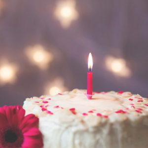 Frases de aniversário curtas