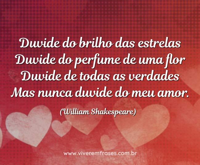 Nunca duvide do meu amor